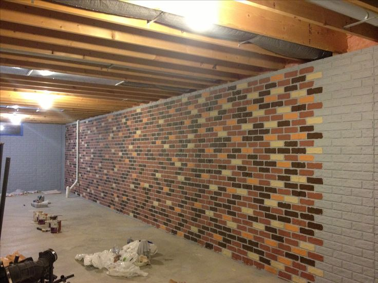 Painting Unfinished Basement Walls Plan