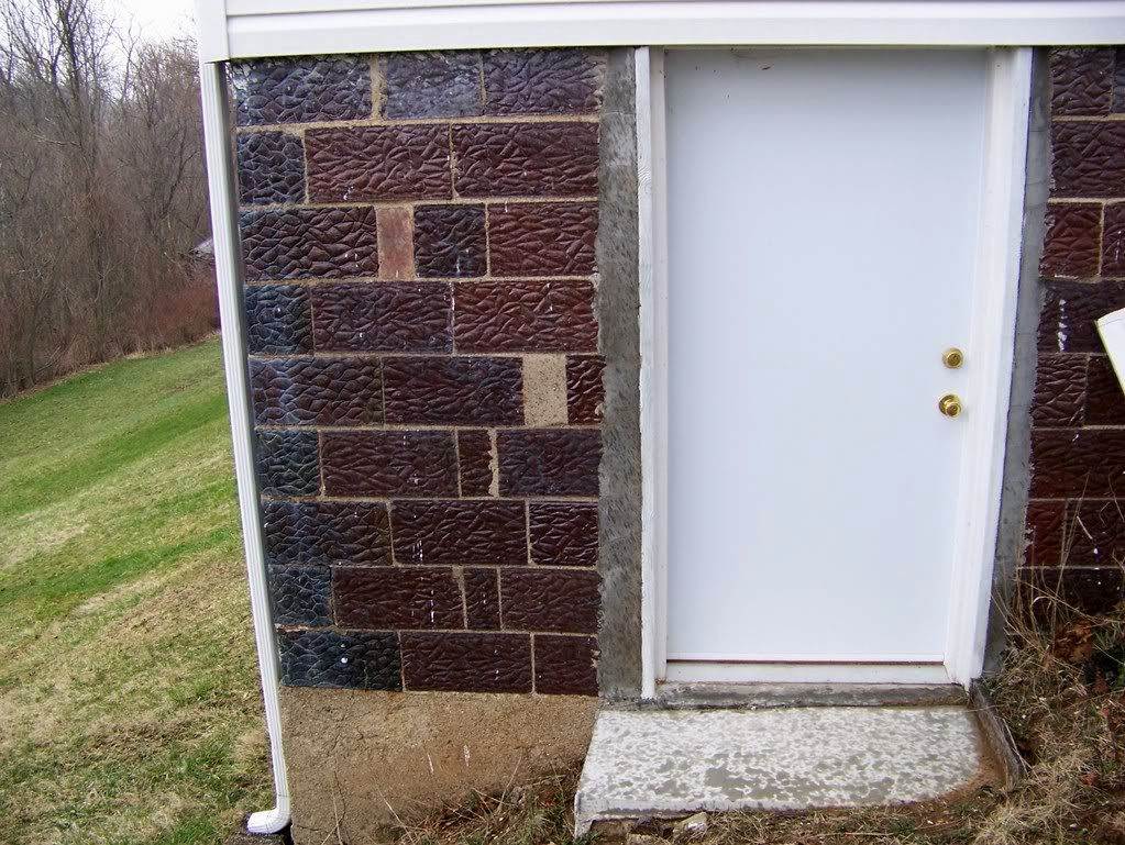 Replacement Basement Metal Door