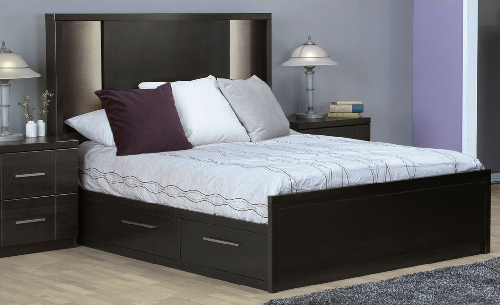 Image of: Queen Size Mattress Bed