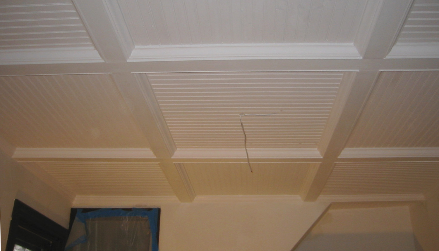 Image of: Removable Basement Wall Panels and Ceiling