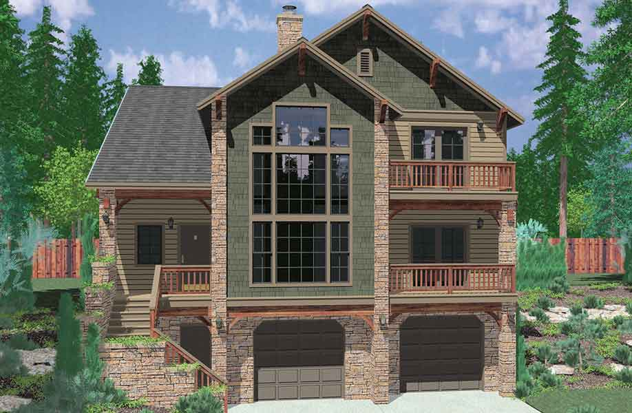 Small 4 Bedroom House Plans With Basement