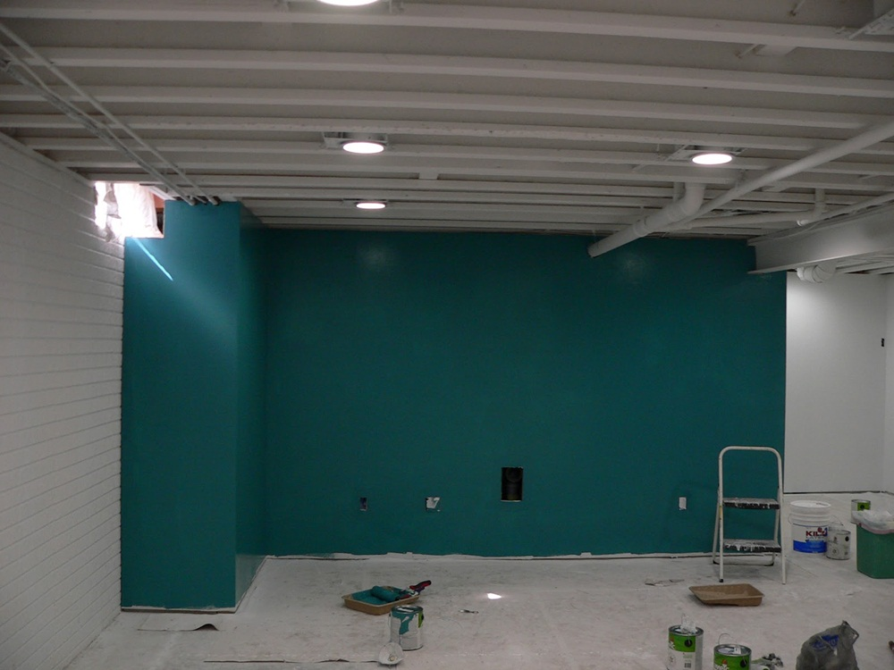 Style Painting Basement Walls