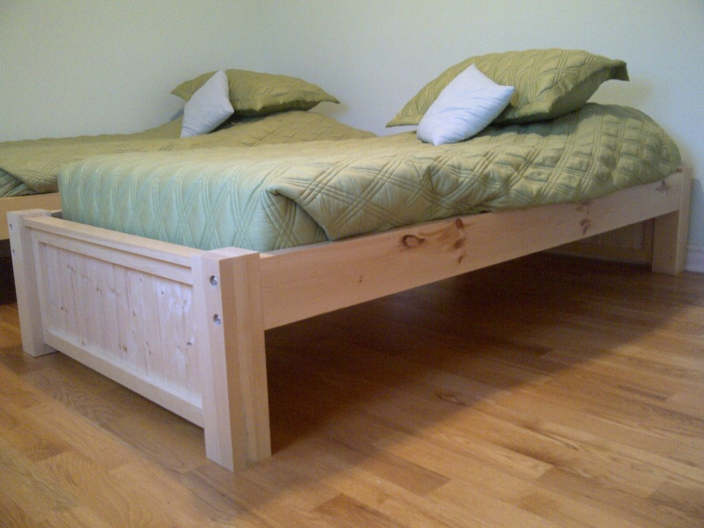 Image of: Twin Mattress and Frame Set