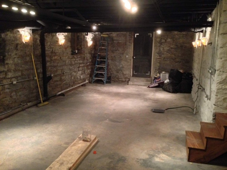 Picture of: Unfinished Basement Lighting Ideas Accessories