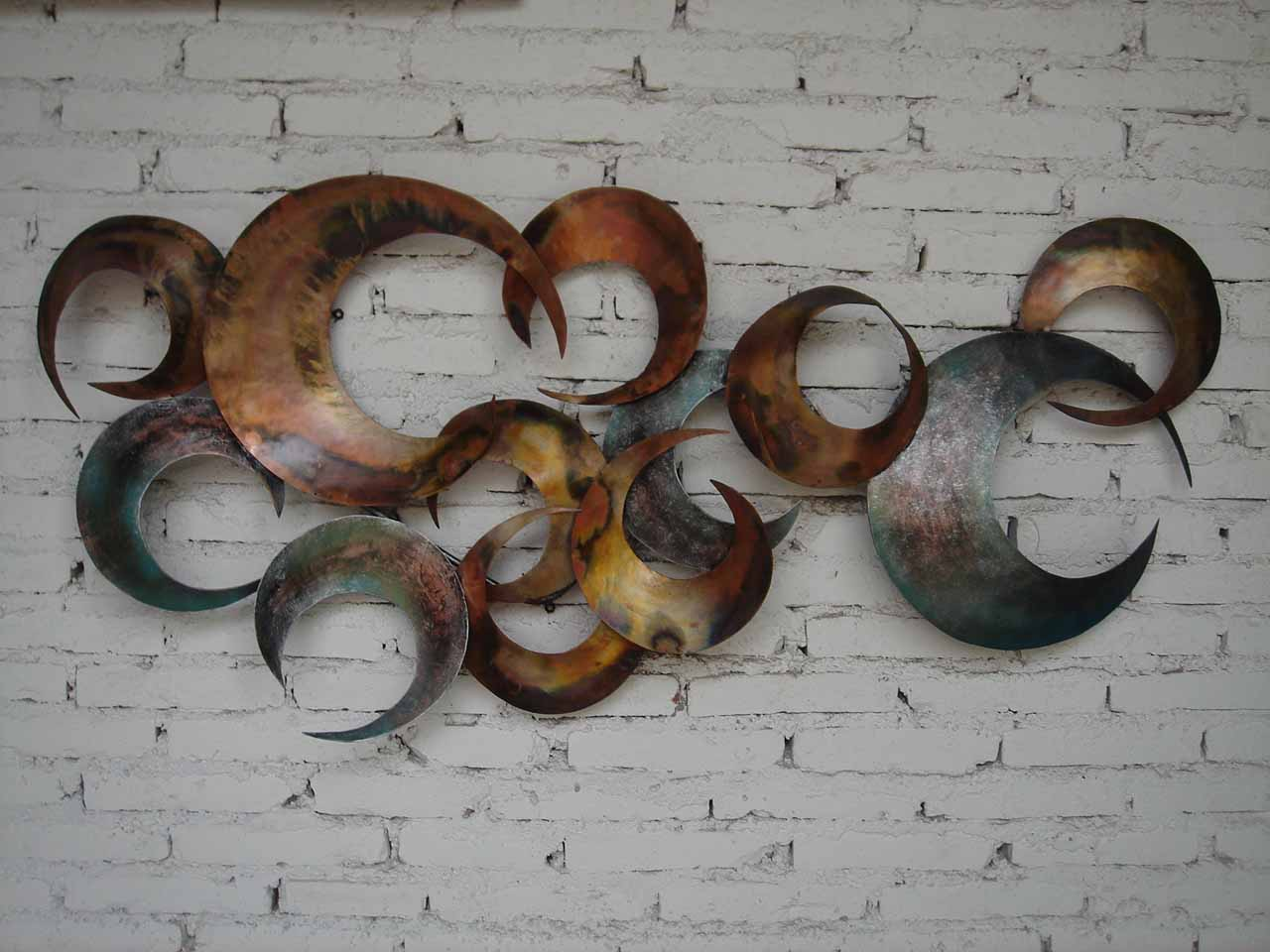 Metal Wall Art Decor And Sculptures Ideas