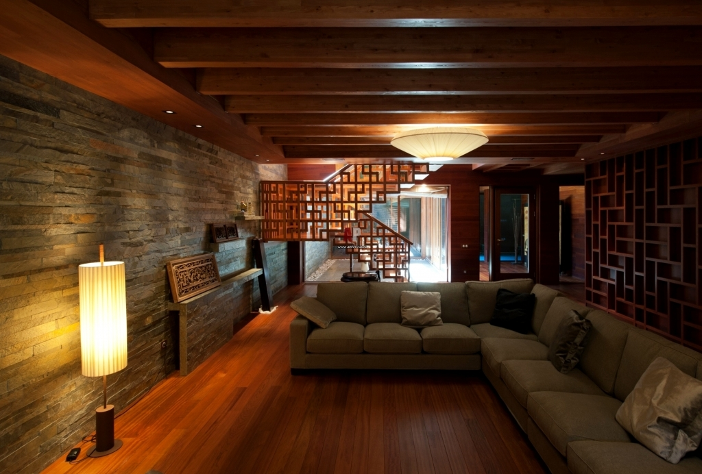 Picture of: Warm Basement Lighting Ideas Low Ceiling