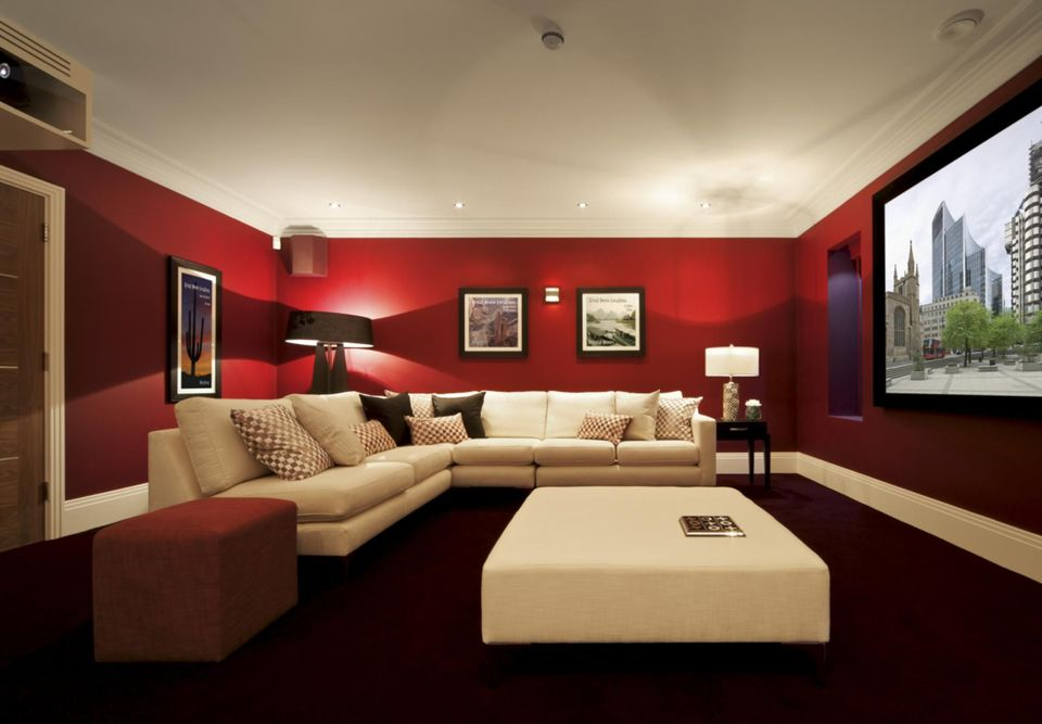 Wonderful Basement Paint Ideas