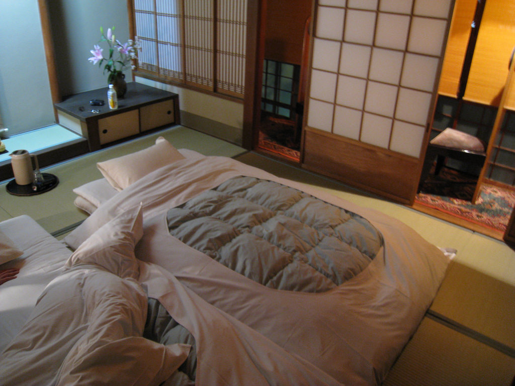 Image of: Wool Japanese Futon Mattress